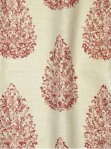 #5 Most Popular John Robshaw Fabric - Kedara Madder