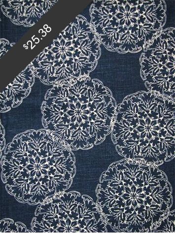John Robshaw Danda Indigo for only $25.38 at HouseFabric.com