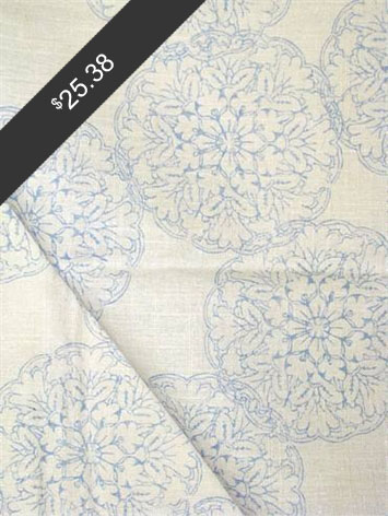 John Robshaw Danda Light Blue for only $25.38 at HouseFabric.com