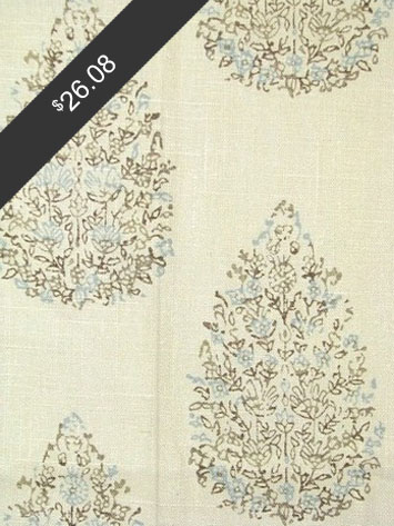 John Robshaw Kedara Aqua Cocoa for only $26.08 at HouseFabric.com