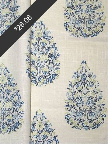 John Robshaw Kedara Blue Green for only $26.08 at HouseFabric.com