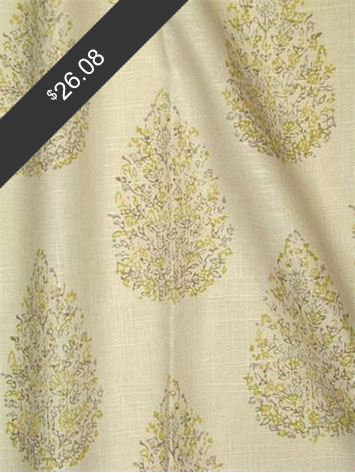 John Robshaw Kedara Lemongrass for only $26.08 at HouseFabric.com