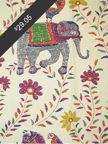 John Robshaw Mahout Multi for only $29.05 at HouseFabric.com