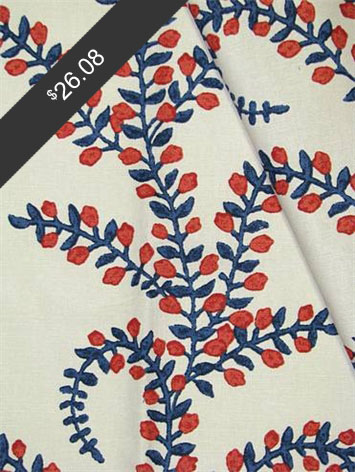 John Robshaw Prasana American Beauty for only $26.08 at HouseFabric.com