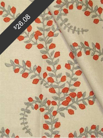 John Robshaw Prasana Saffron for only $26.08 at HouseFabric.com