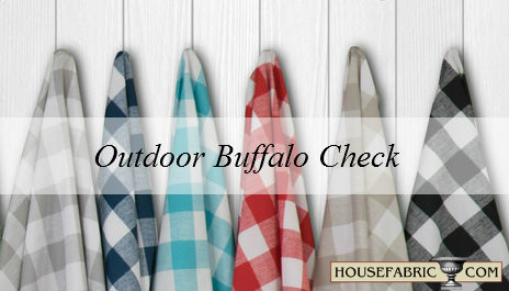 Outdoor Buffalo Check at Housefabric.com