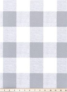 Outdoor Buffalo Check Grey